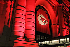 Chiefs Fever (KC Mike D.) Tags: architecture design station union columns fever red painted chiefs kansascitychiefs nfl nationalfootballleague arrowhead