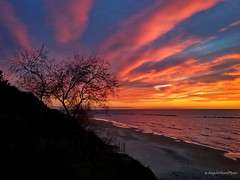 Fatta con il cellulare (Angelo Nori) Tags: sunset telefono tramonto tramonti colori angelonori mare
