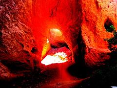 Las Médulas, León, España. (PGARCIA.) Tags: lasmédulas león castillayleón españa caminodesantiago naturaleza minas oro imperioromano verde