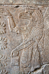 Another winged creature (Nick in exsilio) Tags: assyria antiquity assyrian ashur religion pergamonmuseum berlin archaeology vorderasiatisches museum