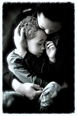 """""""No man is poor who has a Godly mother."""" A. Lincoln (Marie.L.Manzor) Tags: mother child son tenderness portrait nikon nikkor d610"""