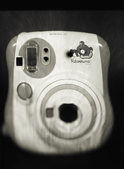 ree-RA koo-MA (O9k) Tags: rilakkuma fujifilm instant instax mini fuji analog analogue sinar p2 largeformat 13x18 5x7 camera cameraporn specialedition instaxmini