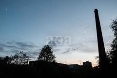 H501_0857 (bandashing) Tags: silhouette dark chimey mills canal buildings trees dusk sunset night sky ashtonunderlyne tameside sylhet manchester england bangladesh bandashing socialdocumentary aoa akhtarowaisahmed