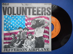 "JEFFERSON AIRPLANE GERMAN 7"" SINGLE (psychocandy65) Tags: airplane jeffersonairplane single vinyl record 45 hippy sanfrancisco germany german volunteers graceslick marty balin psychedelia rock"