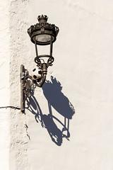 Spain - Malaga - Genalguacil (Marcial Bernabeu) Tags: marcial bernabeu bernabéu spain españa andalucia andalucía andalusia málaga malaga genalguacil farol farola lamp ball pelota fútbol futbol football
