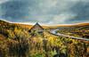 A Long Winding Road (KPortin) Tags: road sagebrush abandonedhouse darkdays oregon