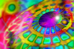 Cúpula (seguicollar) Tags: imagencreativa photomanipulación art arte artecreativo artedigital virginiaseguí cúpula espirales color colorido brillante policromo policromado multicolor círculo