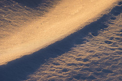 Winter glow (petrapetruta) Tags: blue pink snow sparkle cold light sony7 diagonal abstract