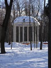 Тула, центральный парк. Ротонда. (viktor_vkin) Tags: зима снег ротонда парк