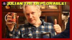 Julian Assange Proudly Declares Himself A 'Deplorable' (Culture Shock News) Tags: julian assange proudly declares himself a 'deplorable'