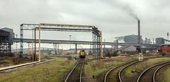 Redbourn Sidings (Kingmoor Klickr) Tags: britishsteel scunthorpe steel steelworks redbourn sidings maschinenbaukile mak 8701 817 industry industrialrailway