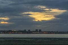 Edinburgh Sunset From East Lothian (Colin Myers Photography) Tags: sunset colin photography scotland edinburgh scottish east forth lothian firth myers firthofforth eastlothian edinburghsunset colinmyersphotography