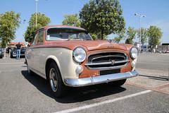 Peugeot 403 (xwattez) Tags: old france car festival french automobile voiture transports peugeot 403 ancienne 2015 tournefeuille française véhicule americanday