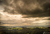 Blick von der Milseburg in die Rhön (Benedikt Filip) Tags: wood light summer sky cloud mountain storm mountains nature berg forest germany landscape outside deutschland daylight heaven skies hessen outdoor timber sommer character tag natur feld surreal himmel wolke wolken berge abroad alemania thunderstorm storms holz landschaft wald allemagne gewitter hdr highdynamicrange lumber germania rhön thunderstorms hesse hügel ドイツ lumbers afield mittelgebirge wälder doitsu drausen rhönmountains ausen dégúo lowmountains 德國德国