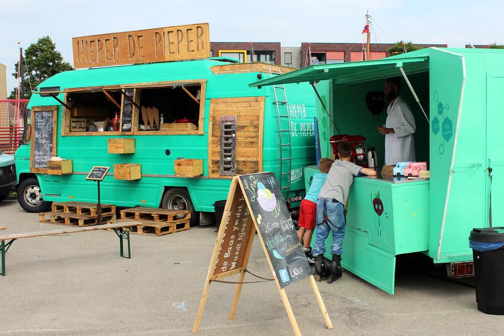 Food Truck Festival Sneek Davydutchy Tags Holland Ice Netherlands