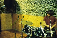 (thisisthecity) Tags: music paris france film rock kids youth analog 35mm drums kid cool lomo lomography pattern rehearsal lofi band lo indie zebra fi mm noise 35 rockband drumer