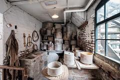 Sagger Workshop (Andrew Stawarz) Tags: industry museum stokeontrent pottery fujifilm staffordshire adobelightroom saggers xt10 gladstonepottery fujinonxf1024mmf4rois saggerworkshop