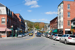 Main Street in Camden, Maine (cholmesphoto) Tags: america american camden maine newengland northamerica us usa unitedstates autumn daylight daytime fall traffic urbanlandscape urbanstreet
