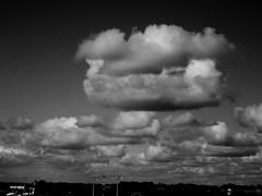 Clouds DAP 15-09-2015 (gallftree008) Tags: ireland sky dublin cloud black nature clouds blackwhite airport horizon perspective monotone vanishing vanishingpoints naturesbeauties naturescreations cloudsstormssunsetssunrises