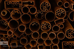 Abstract Geometry (tycampbe) Tags: light shadow india abstract art metal canon photography gold iron delhi pipes photographers size commercial artists shape popular rectangle circular mainstream siddharth setia 500px ifttt