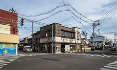(sandman_kk) Tags: road street japan architecture buildings wire crossing fukushima
