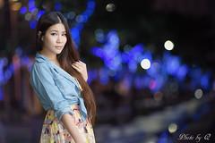 Girl @ night Taipei (SU QING YUAN) Tags: girl beautiful beauty pretty sony taiwan taipei a99 135za sonnart18135