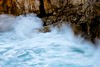breaking waves (bnicoll2020) Tags: blue sea wild green water rock coast energy waves spray menorca turbulence