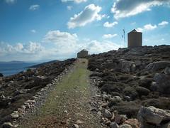 Halki (Andy Kaye) Tags: blue sky cute mill windmill port island greek wind crystal harbour traditional clear greece halki chalki emborio