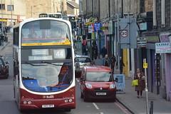 747 (Callum's Buses & Stuff) Tags: bus buses volvo edinburgh gemini lothian lothianbuses edinburghbus b7tl madderandwhite