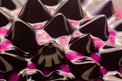 Ferrofluid 3 (scyrene) Tags: black paint magenta magnet focusstack ferrofluid