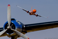 Mango B737 800 (5) (Indavar) Tags: plane airplane airshow chipmunk mustang albatros rand beech at6 radial an2 p51 l39 antonov dc4 dhc1 beech18 t28trojan b378
