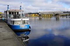 Joensuu - Finland (s.niemelainen) Tags: city colors suomi finland river boat ship colours north autumm joensuu syksy joki karjala kaupunki laiva carelia vrit suvantosilta pohjois vinkeri pielisjokis