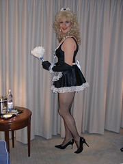French Maid - Blonde (xgirltv1000) Tags: halloween french transformation tgirl transgender makeover dragqueen maid crossdress mtf transformista