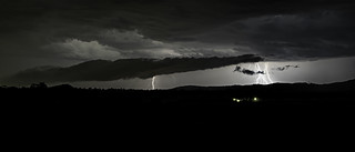 Shelf cloud and Electrical Storm