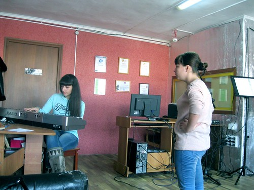 Занятия по вокалу - 2015