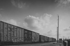 Orange County (◀︎Electric Funeral▶︎) Tags: railroad art digital train canon photography graffiti paint railway socal railcar traincar 5d graff orangecounty anaheim aerosol oc freight boxcars freighttrain rollingstock benched benching freighttraingraffiti fr8train fr8heaven
