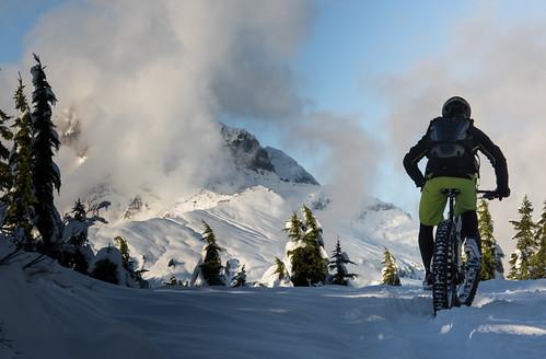 Garibaldi first snow and Paul Ridge Fat Bike ride Nov 3 2015-4
