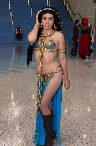Slave jasmine cosplay
