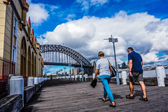 DSC02296 (Damir Govorcin Photography) Tags: park bridge sky people point harbour sony sydney luna milsons a6000