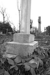 Memorial to Hugh Bruce Milman Pilot Officer R.A.F. V.R. (IanAWood) Tags: pinner londoncemeteries londonboroughofharrow walkingwithmynikon nikkorafs24mmf14g pinnercemetery nikondf