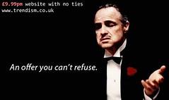 The Godfather of web sites (4igeek) Tags: godfather marlonbrando nolimitations bargainwebsite offercantrefuse