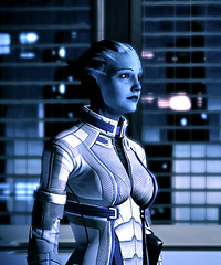 liara t'soni (sentinelss) Tags: game soldier video tali games aliens mass effect normandy commander shepard ssv asari nar n7 liara raaya alchera quarian tsoni talizorah