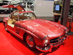 1955 Mercedes-Benz 300SL 2 (Jack Snell - Thanks for over 26 Million Views) Tags: sf auto show ca 58th wallpaper art cars 1955 wall vintage paper san francisco display center international mercedesbenz collectible moscone 300sl excotic jacksnell707 jacksnell accadomy