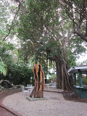 Key West Garden Club at West Martello Tower (escriteur) Tags: sculpture florida fort keywest banyan banyantree img5074 westmartellotower joeallengardencenter westmartello burningspirit keywestgardenclub fortwestmartello westmartellofort perryarnold