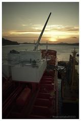 Bow Atlantic (Rhannel Alaba) Tags: sunset sunrise nikon terminal atlantic bow chemical dow d90 pido alaba rhannel