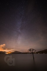 Millarochy Milky Way (Ayrshire & Arran Photo (Richard Cottrell)) Tags: longexposure nightphotography sky night stars scotland skies trossachs lochlomond milkyway millarochy millarochybay