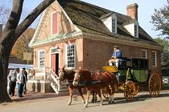 Virginia, Colonial Williamsburg IMG_2300 (ianw1951) Tags: architecture colonialwilliamsburg historicalreenactment horsedrawntransport usa virginia