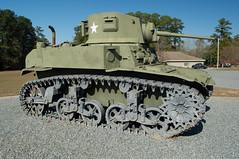Cordele 100 - Georgia Veterans State Park (RNRobert) Tags: cordele crispcounty generalstuart georgia georgiastateveteranspark honey lighttank m3a1 afv armoredfightingvehicle