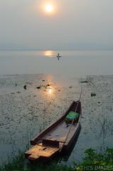 Talking Fishing Blues (sakthi vinodhini) Tags: kolavai lake fishing fishermen india tamil nadu chennai chengalpet south earlymorning early morning sunrise nikon d5100 cwc560 cwc outdoor misty