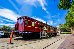 DSC00032 (Damir Govorcin Photography) Tags: heritage history tracks australian technology park clouds sky sydney wide angle perspective creative natural light eveleigh redfern zeiss 1635mm sony a7rii trees
